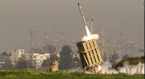 """جيش الاحتلال: """"القبة الحديدية"""" اعترضت صاروخا أطلق على إيلات"""