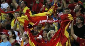 بالصور.. جماهير أسبانيا تحتفل بصعود منتخبها للدور الربع نهائي