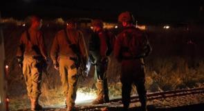 """الاحتلال يعتقل مواطنين من """"أم التوت"""" شرق جنين"""