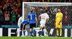 """إيطاليا تهزم إسبانيا وتبلغ نهائي """"يورو 2020"""""""