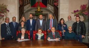 مؤسسة منيب وانجلا المصري توقع اتفاقية مع جامعة تكساس لدعم الجامعات الفلسطينية
