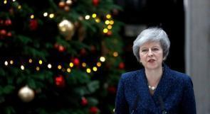 البرلمان البريطاني يصوّت اليوم على سحب الثقة من ماي