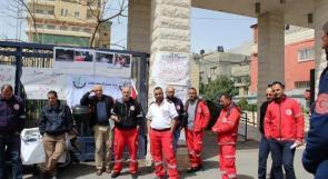 نقابة الإسعاف والطوارئ تدعو للاعتصام اليوم أمام رئاسة الوزراء في رام الله