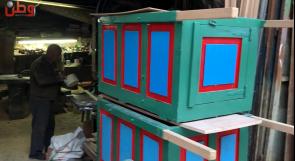 عربات النقل الخشبية.. أيقونة نابلسية عرضة للاندثار