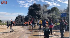 أهالي قرى جنين الغربية للمسؤولين: أنقذوا حياتنا من شارع الموت!