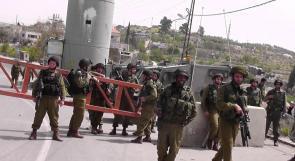 سريان الأوامر العسكرية الإسرائيلية على الأراضي المحتلة بموجب الاتفاقات المرحلية