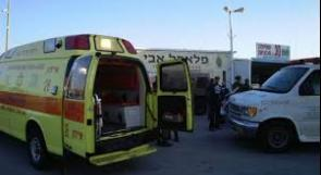 إصابة خطيرة خلال حريق في مركز بالداخل