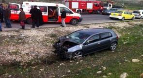 الشرطة: حادث سير كل 90 دقيقة وحالة وفاة كل 72 ساعة في فلسطين