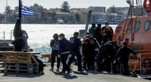 وفاة 4 أطفال في غرق قارب لمهاجرين قبالة اليونان