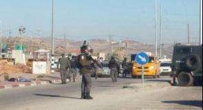 الاحتلال يعتقل الشاب محمود ولويل من مخيم الفارعة على حاجز زعترة