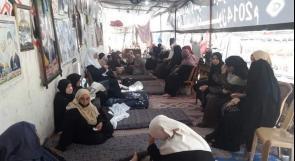 """ناشدوا عبر """"وطن"""" بتحقيق مطالبهم.. ذوو الشهداء في غزة يهددون بالإضراب المفتوح عن الطعام"""