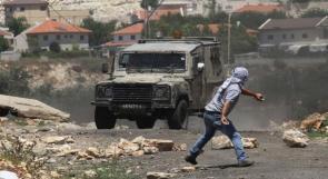 """إصابات بالاختناق في المواجهات المندلعة مع قوات الاحتلال في """"كفر قدّوم"""""""