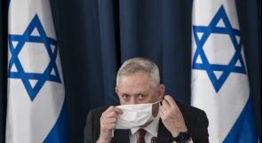 غانتس يوصي بتعزيز حالة التأهب على الحدود الشمالية لفلسطين المحتلة