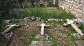 فرنسا تدين تدنيس مقبرة دير الساليزيان في بيت جمال
