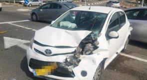 4 اصابات بحادث سير على مفترق كابول