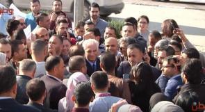 محتجون على الضمان يصرخون في وجه الصالحي: انتم تمثلون الشعب أم لا .. والصالحي يرد لـوطن