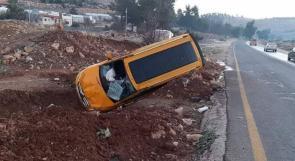 مصرع شخص واصابة 196 آخرين بحوادث سير في الضفة الغربية