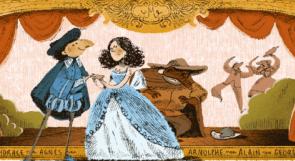 """""""جوجل"""" يحتفي بالكاتب الفرنسي موليير بلوحة فنية على واجهته الرئيسية"""