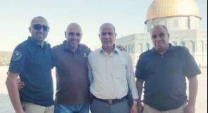 الاحتلال يستدعي رئيس حراس الأقصى عصام الزاغة للتحقيق