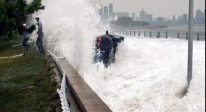 """الصين: قتلى ومفقودين جراء إعصار """"ليكيما"""""""