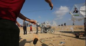الطائرات الورقية والبالونات الحارقة يمكن أن تؤدي إلى حرب