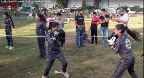 فتيات الملاكمة في غزة.. صغيرات بأحلام كبيرة!