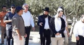 وزير الزراعة الاسرائيلي يقود اقتحامات المستوطنين للاقصى