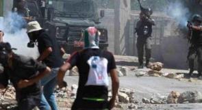 مواجهات عقب إغلاق الاحتلال مخيم العروب