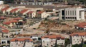الاحتلال يصادق على بناء 3144 وحدة استيطانية في الضفة