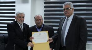 إنشاء أول جمعية مستخدمي مياه في فلسطين