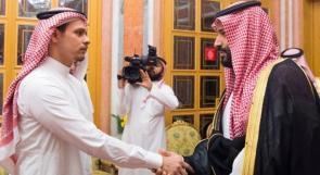 ولي العهد السعودي محمد بن سلمان يعزي نجل الصحفي جمال خاشقجي