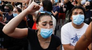 حظر تجوال وإغلاق البيت الأبيض وتوسع المظاهرات في الولايات المتحدة