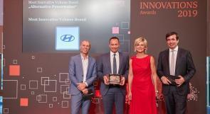 """هيونداي موتور  Hyundai Motorتفوز بجائزتين للابتكار من مركز إدارة المركبات وشركة """"برايس ووترهاوس كوبرز"""" في ألمانيا"""