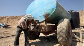 الانتهاكات الإسرائيلية بحق مصادر المياه الفلسطينية