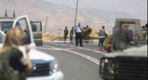 الاحتلال يزعم: اطلاق نار على سيارة مستوطن جنوب نابلس