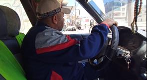 """الدريملي يناشد المسؤولين عبر """"وطن """" للنظر إلى حال السائقين في غزة"""