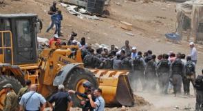 الاحتلال يؤجل هدم واخلاء الخان الأحمر لإشعار آخر وعساف: لا نثق بالاحتلال