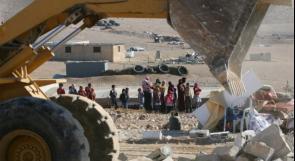 """سلطات الاحتلال تهدم قرية """"العراقيب"""" للمرة 182"""
