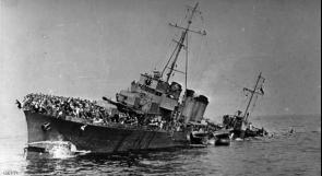 بريطانيا تحقق في حطام سفنها التي غرقت في الحرب العالمية الثانية