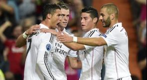 فوز ساحق لريال مدريد