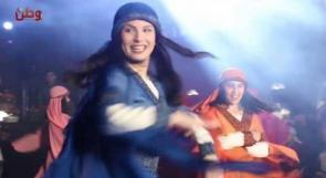 ليلة تراثية من الاغاني الشعبية والدبكات الفلكلورية في يوم الزي الفلسطيني