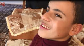 الطفل بسام يناشد عبر وطن لساق صناعية