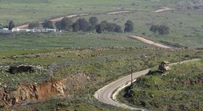 الاحتلال يقرر إغلاق المجال الجوي في منطقة الجولان المحتل