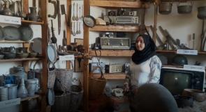 نجلاء ومحمد.. زوجان ينذران حياتهما لحفظ التراث وينشئان أول متحف أثري حديث في غزة