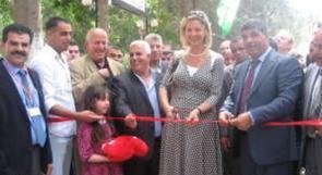 جمعية الاغاثة الزراعية تفتتح المعرض الاول للفراولة والورد الفلسطيني في نابلس