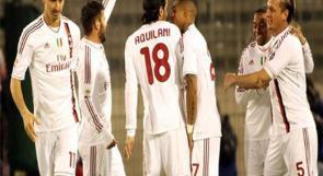 فريق ميلان يصل إلى دبي