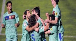 ريال وبرشلونة يحافظان على فارق أربع نقاط بينهما