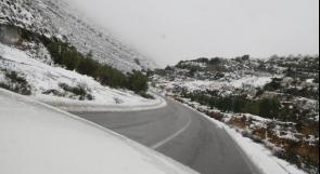حالة الطقس: أمطار وثلوج فوق المرتفعات الجبلية