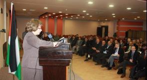 التربية تنظم المؤتمر الفلسطيني التربوي الأول حول معلم متميز لتعليم نوعي