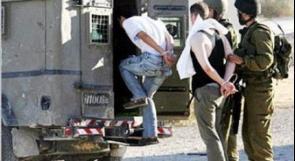 الاحتلال يعتقل أربعة مواطنين من الخليل وبيت لحم